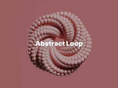 Abstract Loop blender3d blendercycles blender3dart abstract after effects motion graphic motion design cinema 4d 3d animation satisfying 60fps animation blender c4d cinema4d abstract animation abstract design looping animation loop animation abstract loop