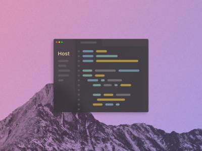 Text Editor UI Concept