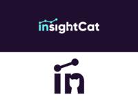 InsightCat - Brand Identity Concept