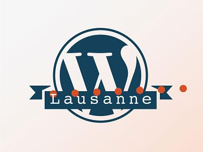 WP Lausanne meetup wordpress logo lausanne