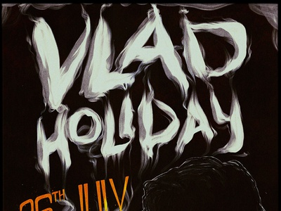 Vlad Holiday Show Poster