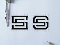 SS monogram concept