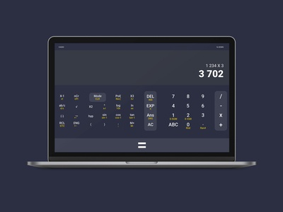 Casio Fx-82MS desktop redesign