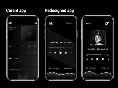 Music player CapTune redesign