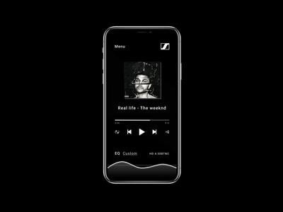 CapTune music player redesign