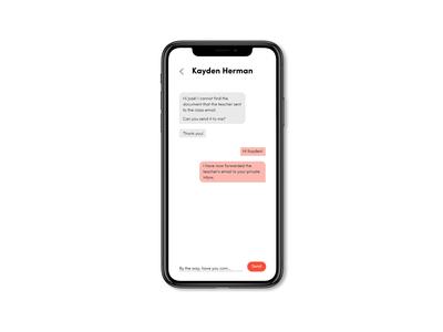 Chat university app