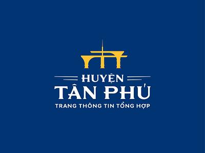 HUYỆN TÂN PHÚ | TRANG THÔNG TIN TỔNG HỢP construction location typography typeface huytuong branding vietnam logo design
