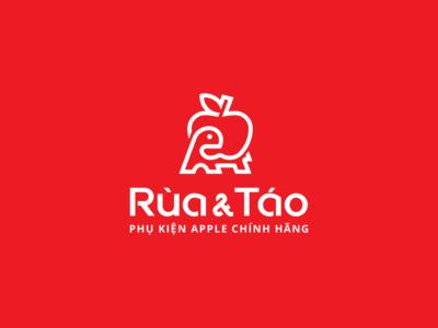 Rùa & Táo - Logo Design