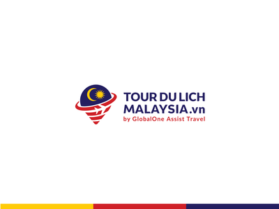 TOUR DU LICH MALAYSIA .vn - Logo design tourist tour traveling travel plane malaysia location pin design logo