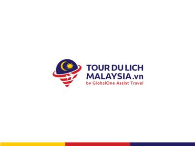 TOUR DU LICH MALAYSIA .vn - Logo design