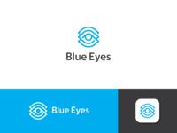 Blue Eyes - Unused Logo concept