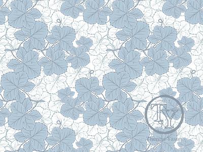 Foliage Recolored pattern design illustration fabric designer branding packaging design surface design fabric design