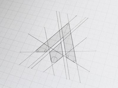 Ash Flint logo sketch