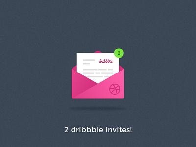 2 dribbble invites! dribbble invite graphic design branding ui logo brand identity clean simple digital