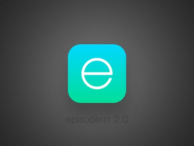 Episoder icon v. 2.0