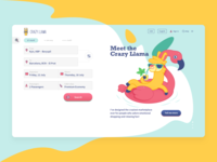Crazy Llama booking platform