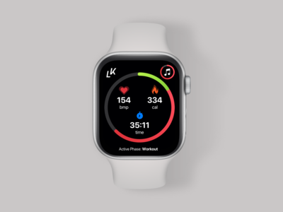 Livekick Apple Watch Fitness App