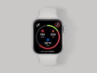 Livekick Apple Watch Fitness App