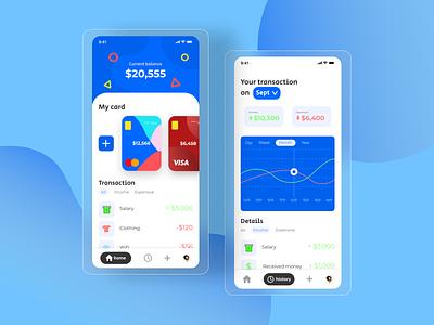 Finance App app design ux ui finance app