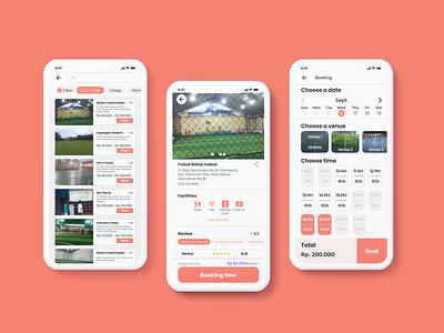 Booking App illustration ux app design design ui