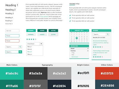 Greenet UI moodle learning links form stars calendar