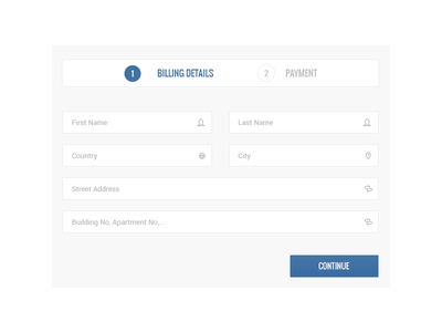 Simple Checkout steps - Aicha e-commerce steps sequence cart purchase shop template