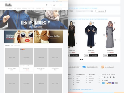 Hijab Clothes E-Commerce model e-commerce fashion hijab clothes girls home trend collection