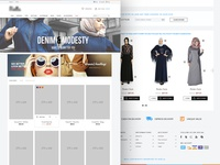 Hijab Clothes E-Commerce