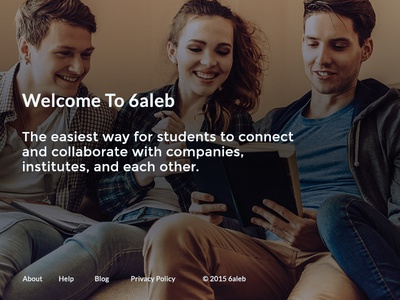 Taleb Sign Up student sign up home page