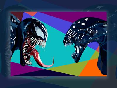 Symbiote vs Alien
