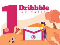 A Dribbble Invitation
