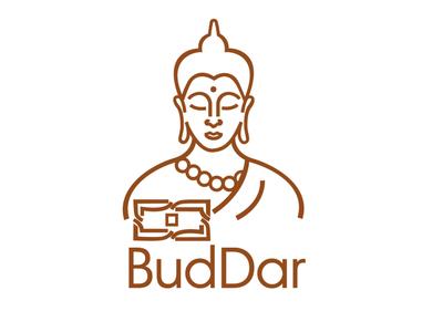 BudDar logo vectorart vector illustration vector logotypes logotypedesign logotype logo design logodesign logo design buddha