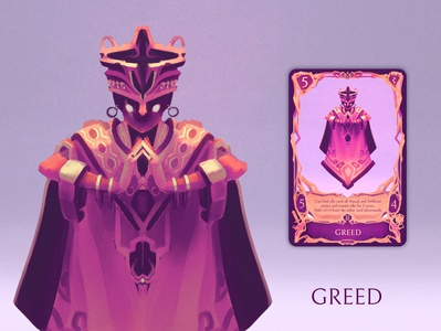 Greed - a Deadly Sin-