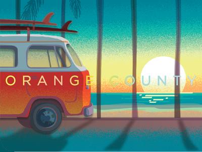 Orange County Starbucks Card