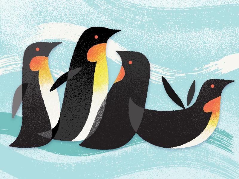 Penguins art