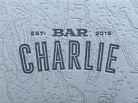 Bar Charlie logotype
