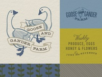 Goose and Gander Farm Branding Suite
