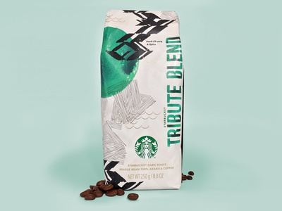 Starbucks Tribute Coffee Bag 2014