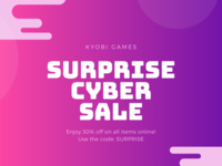 surprise cyber sale