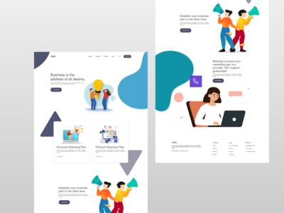Jade - Business Website Landing Page