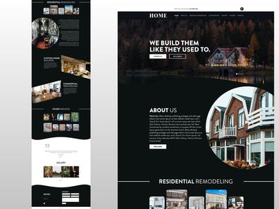 Home - Website Visual Exploration