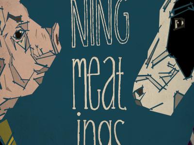 Morning Meatings vector illustration
