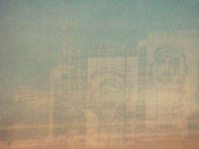 Film double exposures. film brownie old cuba che castro beach santa maria double exposure