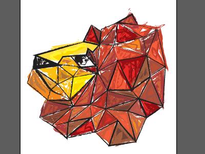paper lion gone pensive