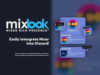 Mixer Rich Presence illustration design