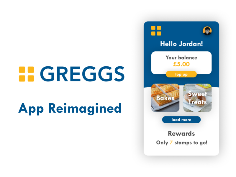 Greggs App Reimagined