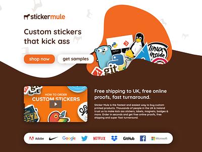 Sticker Mule Reimagined