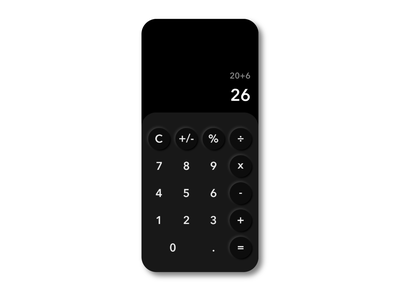 Daily UI #004 - Calculator dark mode user inteface neumorphism daily ui user interface daily 100 challenge ui design challenge calculator dailyui004 004 dailyui