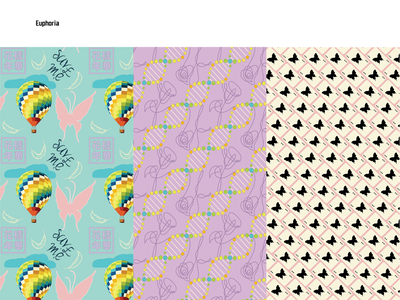 Pattern Collection concept illustrator tileable filler secondary hero image pattern design pattern art pattern young forever love yourself adobe creative cloud adobe illustrator house of cards dna k-pop kpop bts design illustration