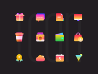 Colourful Icons